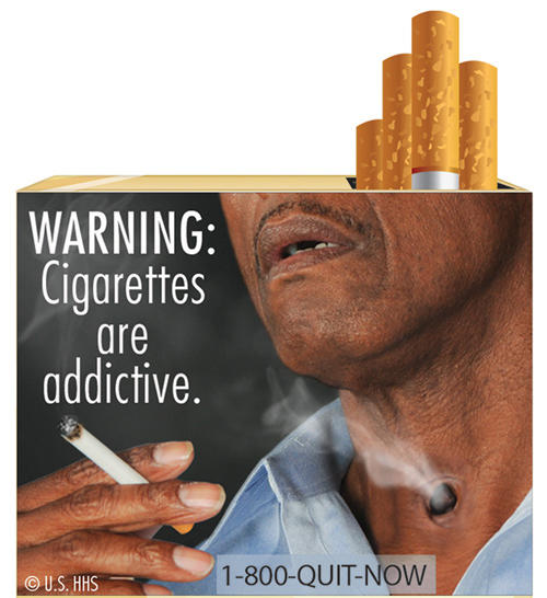 Anti-Smoking Poster Visual Analysis in Advertising | Free ...